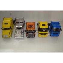 Kit Com 5 Miniaturas Caminhão Coleção Escala 1/32 Sortido