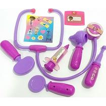 Kit 8 Peças Doutora Brinquedos Eletrônico + Adesivos