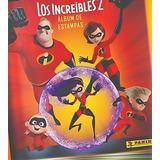 Album Increibles 2 + 50 Estampas Disney Pixar Panini