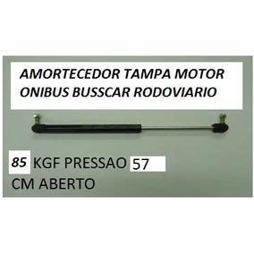 Amortecedor Tampa Motor Onibus Busscar 85 Kg 57 Cm Aberto