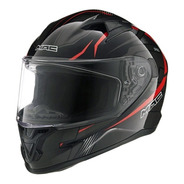 Casco Moto Integral Mac Speed Riot Negro Oficial Devotobikes