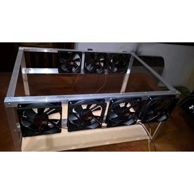 Estructura Rig Minero Case Mineria / Minero 6 Gpu - Eth Btc