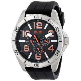 Boss Naranja Hombres Big Time\ Reloj De Acero Inoxidable C