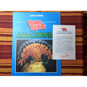 Álbum De Figurinhas Ping Pong Amazônia Vazio