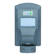 Foco Solar Led Poste Exterior 20w  Sensor Movimiento Ml1045