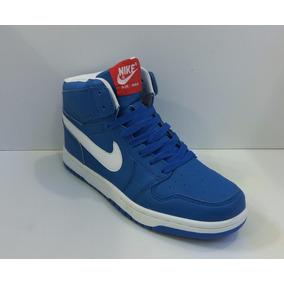 botas azules nike
