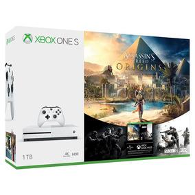 Consola Xbox One S 1tb + Videojuegos Descargables Assassin
