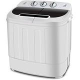 Super Trata Portátil Washer Mini Lavadora De Cuba Del Gemelo