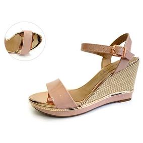 b70dfaab98 Oxford Verniz Rosa Do 34 Feminino Beira Rio - Sapatos no Mercado ...