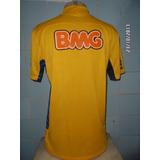 Camisa Santos Amarela De Jogo no Mercado Livre Brasil f2ac1c01ffcea