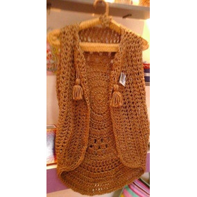 Chalecos Tejidos A Crochet Artesanales