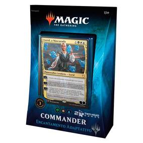 Magic Commander 2018 Encantamento Adaptativo Deck Portugues