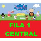Entradas Peppa Pig Fila 1 Central Teatro Gran Rex 2017