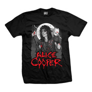 Remera Alice Cooper Unmasked