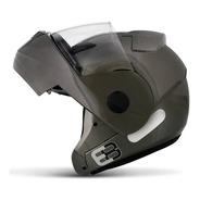 Capacete Articulado Ebf New E8 Solid Robocop Escamoteável