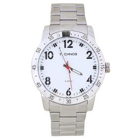 Relógio Technos Masculino Esporte Prata 2035lws/1b