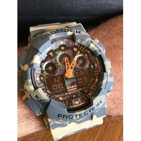 ac294a00c40 Relógio Masculino G - Shock Prova D  Água Militar Topp