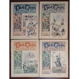 Caras Y Caretas Edicion Uruguaya Año 1896 Lote 4 Numeros
