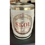 Barril De 5 Litros - Cerveja Skol Anos 90 Vazio