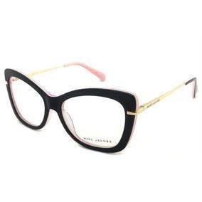Armacao Oculos Feminino Grau Grande De Marc Jacobs - Óculos no ... 3ec22689a9