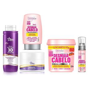 Kit Magic Color Ice Blond + Mascara + Kit Desmaia Cabelo