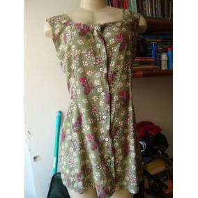 Minivestido - Sobre Legging- Floral- Viscose -frete R$ 7,00.