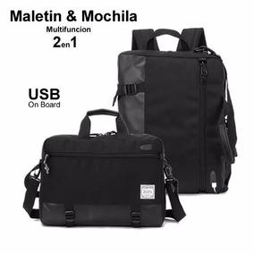 Mochila Maletin 2 En 1 Zom Zm 341 Usb + Mouse Inal. Regalo !
