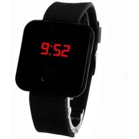 Reloj Negro Led