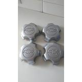 Jogo 04 Calotas Rodas Alumínio Gm Blazer Dlx, S-10 4.3 V6 98