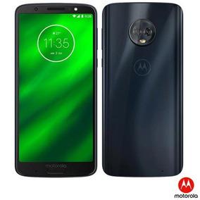 Moto G6 Plus Índigo Motorola 5,9 64gb 12 Mp + 5 Mp Xt1926-8