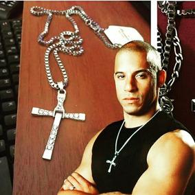 Collar Cruz Con Cadena Dominic Toretto Rapido Y Furioso