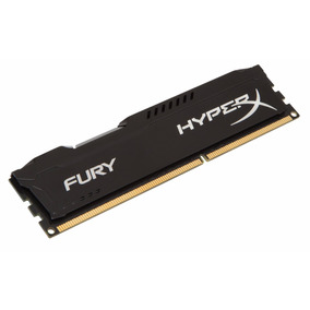 Memoria Ddr3 4gb Kingston Hyperx Fury 1600mhz
