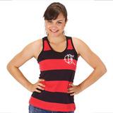 Camisa Flamengo Feminina Regata Retro Tricarioca 79 Blusinha