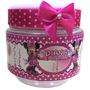 50 Potinhos De Papinha Personalizados Minnie Rosa. Minie