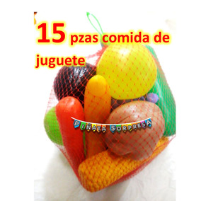 Comida Juguete Didacto Fruta Verdura Replica Utileria Prop