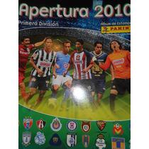 Album De Estampas Apertura 2010 Primera División ( Panini )