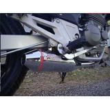Escape Competicion Honda Cbx 250 Twister Stage 2 Cromado 4 P