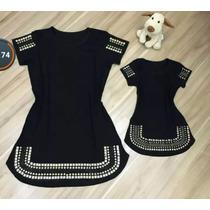 Vestido Tal Mãe Tal Filha Curto Pedraria Moda Instagram Moda