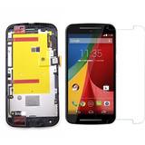 Display Frontal Moto G2 Tela Touch Lcd + Pelicula Motog2