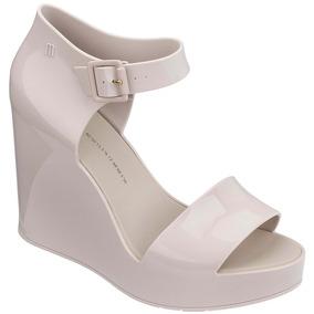 68331073d774 Melissa Mar Wedge Bege Plataforma - Sapatos Femininos no Mercado ...