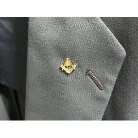 Pin, Botton Símbolo Da Maçonaria - Frete R$ 9,00