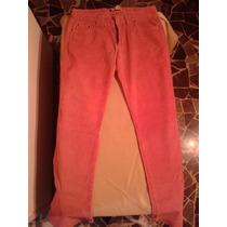 Pantalon De Pana Embarazada Rosa Zara Importado Original