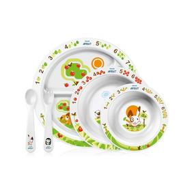 Avent - Set De Platos Para Bebés Mealtime 6 Meses A +