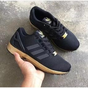 tenis adidas zx flux rose gold