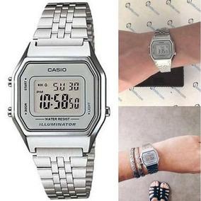 dd92fe3a170 Relogio Casio Vintage Prata Original - Relógios no Mercado Livre Brasil