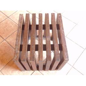 Banco De Pura Madeira Ipê 60x50x45