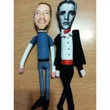 Muñecos De Tela Coldplay, Chris Martin, Justin Bieber