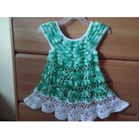 Suéter Juvenil Talla S. Tejido A Crochet En Hilo Algodon