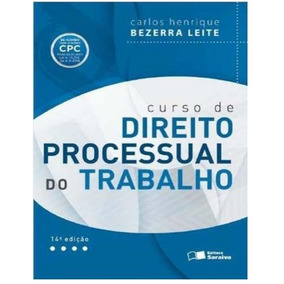 Curso De Direito Processual Do Trabalho 14ª Ed. 2016+brinde