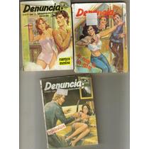 Denuncia. Revistas. (año-1988) 3 Por $120.00
